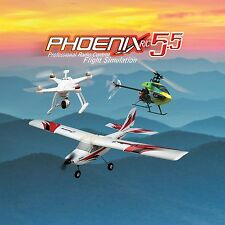 New Runtime Games Phoenix R/C Pro Flight Simulator V5.5 w/ Adapter Spektrum DX6i