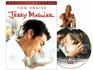 Like-New-DVD-Jerry-Maguire-Special-Edition-Tom-Cruise-Cuba-Gooding-Jr-Rene