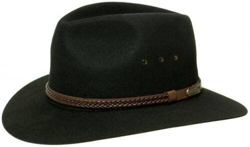 AKUBRA Exeter stampatraliano Cappello con LIBERO Cappelliera in VALORE Von