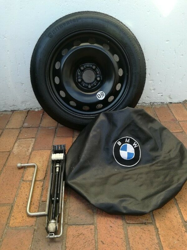 BMW F25 X3 Space Saving Spare Wheel kit,Tools fits X3 2011-2017 Brand New Kit Bag Cover incl