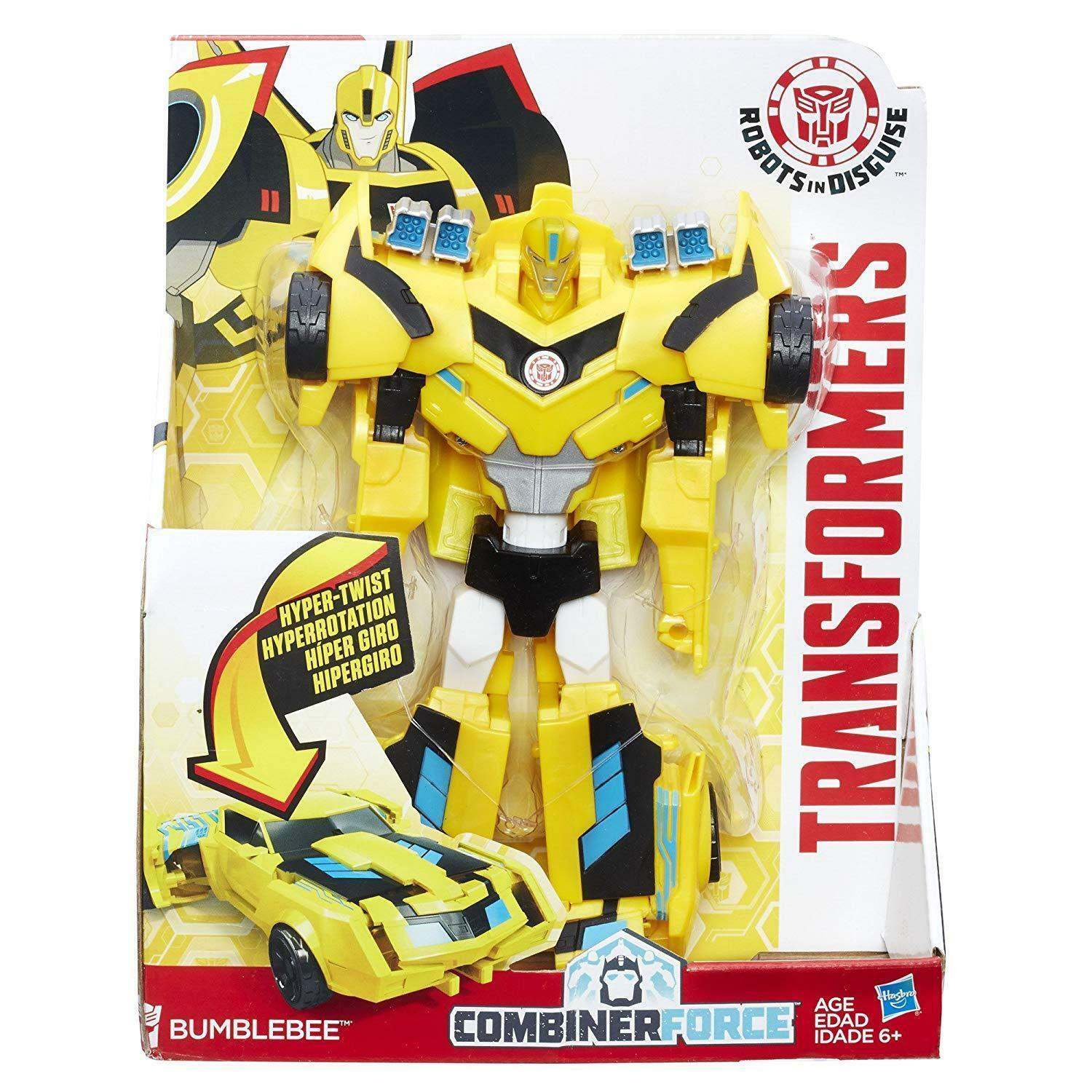 Transformers Robots In Disguise COMBINATORE Force 3-Step changer Bumblebee