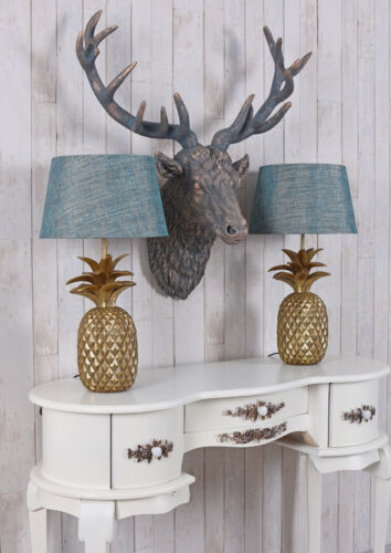 Tischlampe Ananas Tischleuchte Pineapple Lamp Nachttischlampe Leuchte Goldlampe