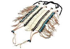 Handmade Large Native American Style Buffalo Bone Hairpipe Tribal Breastplate
