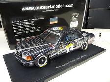 1:18 Autoart Mercedes 500 SEC AMG 24h Spa Ludwig #6 NEU NEW