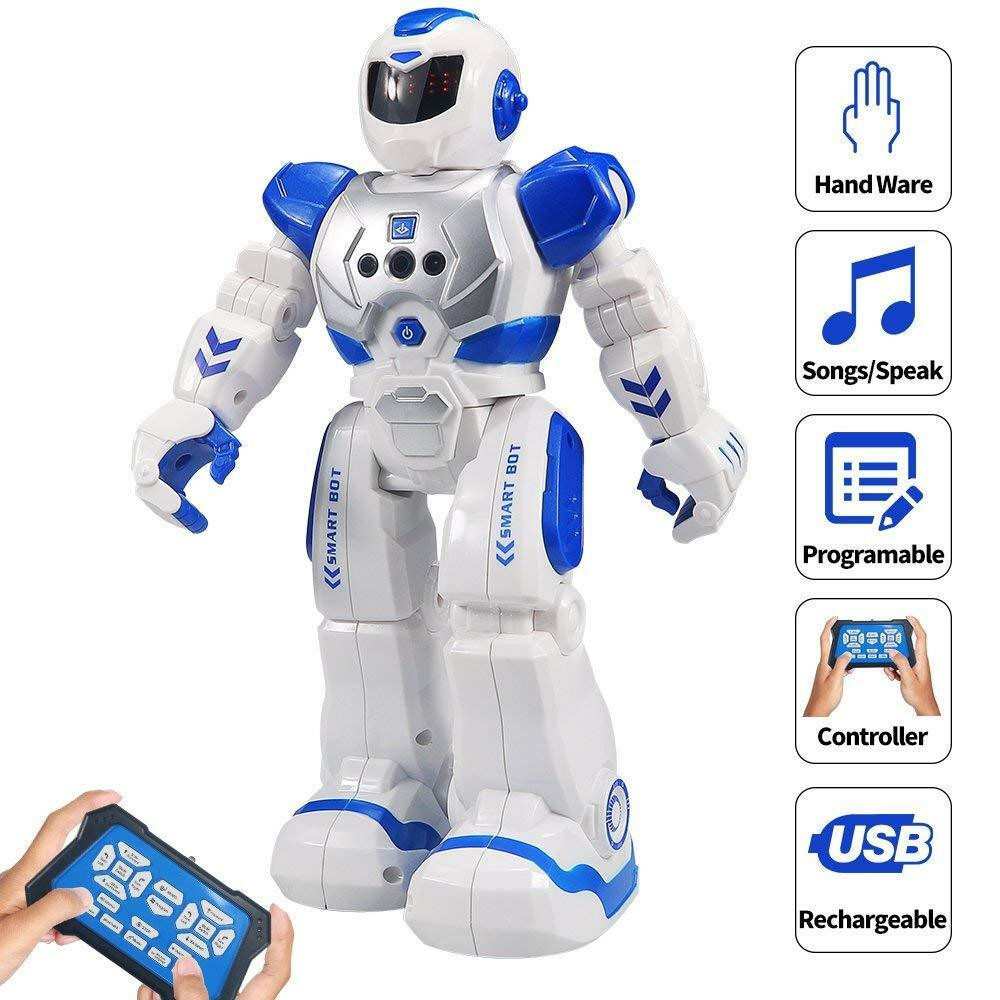 Intelligent Dancing Robot Interactive Toy For Kids Games Walks Talks Sings Dance
