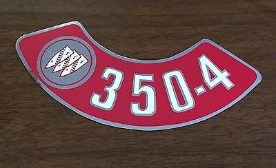 1968-1974 68 69 70 71 72 73 74 BUICK Small 350-4V Air Cleaner Decal
