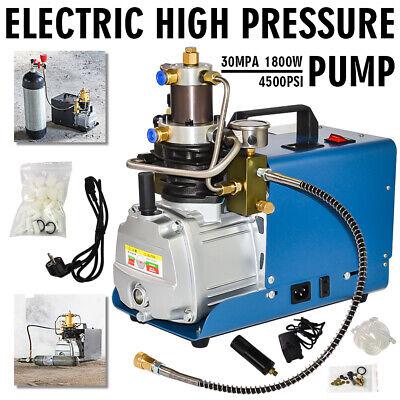 30MPa Air Compressor Pump 110V PCP Electric 80L//min High Pressure System 1800W