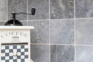 Carreaux marbre pierre gris clair Bardiglio Antique mur F-45-40010_b ...