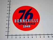 76 BONNEVILLE SPEED TRIALS 1949 Aufkleber Sticker Tuning Union Gasoline V8 Mi219