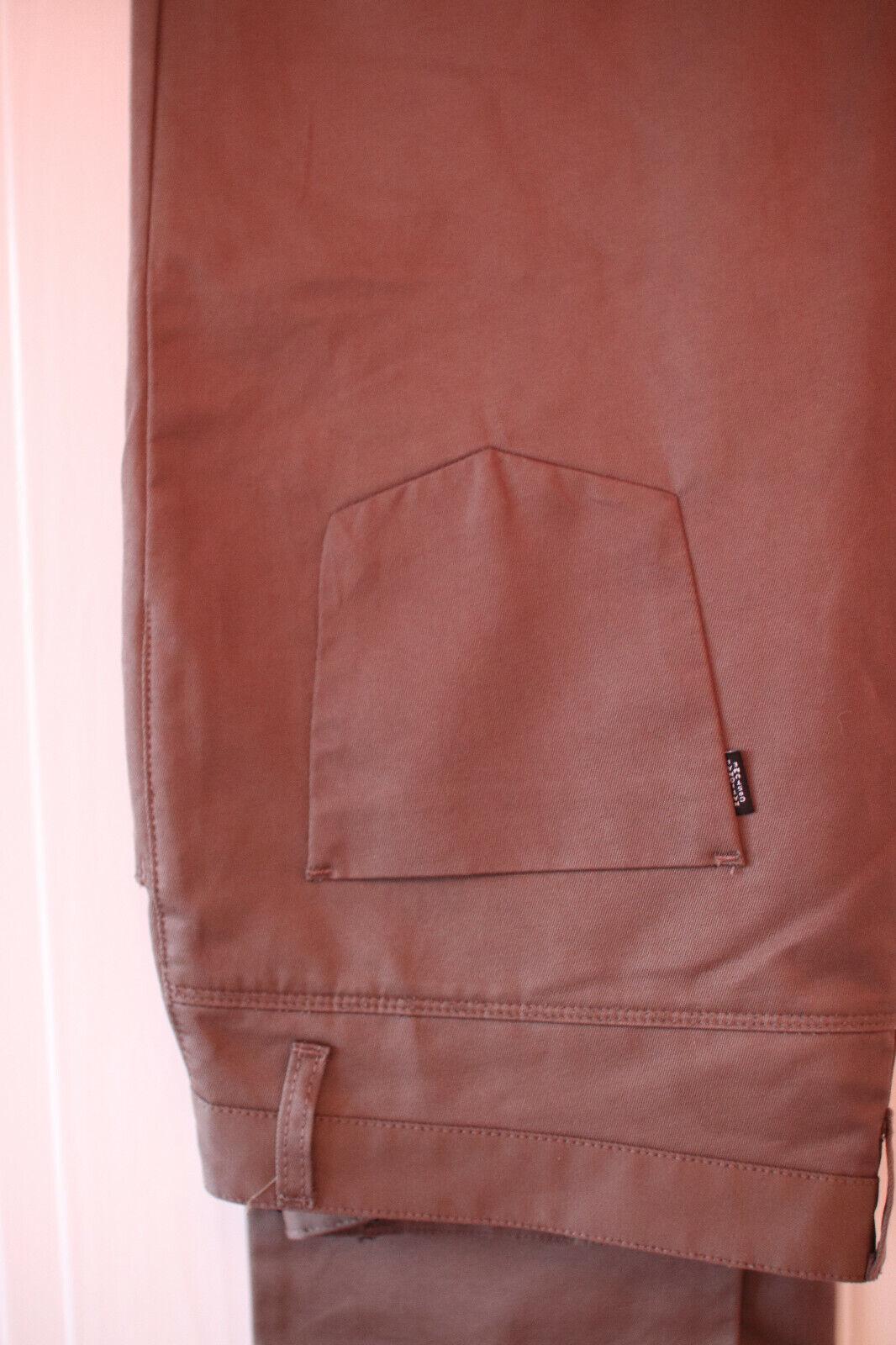 Da Uomo COSTUME NATIONAL Marroneee Jeansstyle Pantaloni (Taglia (Taglia (Taglia 54 38) c0eb83