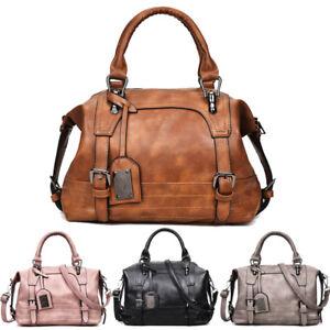 37bd8fa281 Image is loading Women-Handbag-Shoulder-Leather-Tote-Purse-Messenger-Hobo-