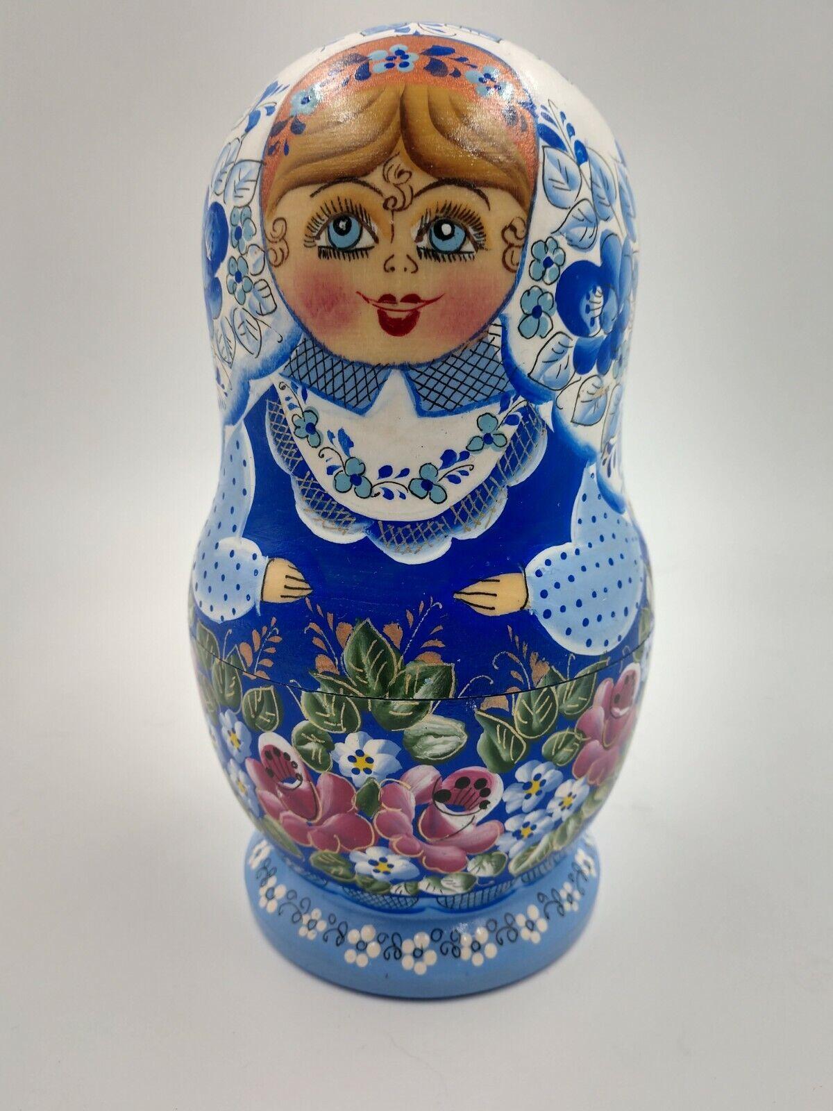 Matryoshka Nesting bambolas Russian  Wood giocattolo Folk Art 5-piece  negozi al dettaglio