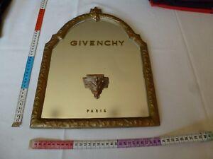 GIVENCHY RARE présentoir display miroir VINTAGE parfum designer années 60/70