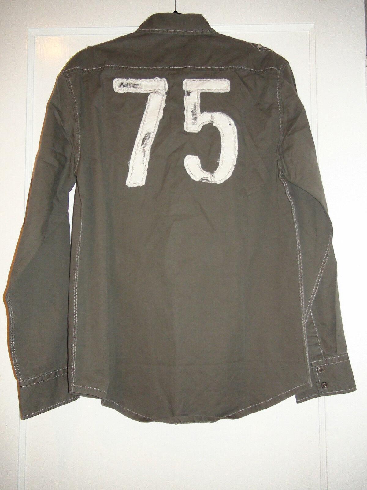 773a0dbf7 Men's 7 Diamonds Freestyle Long Sleeve Olive Green Casual Shirt NWT Sz L 2XL