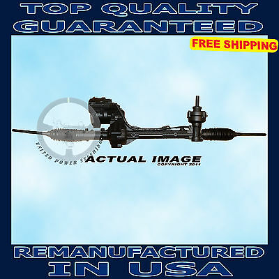 2010-2012 Ford Fusion 2.5L Detroit Axle Complete Electric Steering Rack and Pinion Assembly - 2010-2011 Mercury Milan 2.5L - 2011-2012 Lincoln MKZ 2.5L -