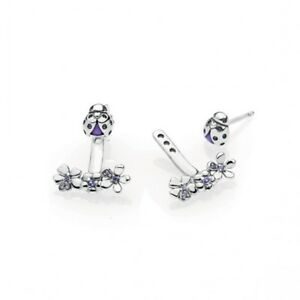 e2a178edb9ba2 Genuine PANDORA Silver Ladybug Meadow Jacket Earrings - 297123NLC | eBay
