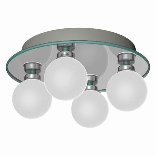 Deckenleuchte 4-fach G9 warmton Leuchte für LED Lampen Spiegelleuchte
