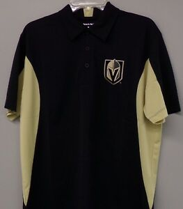 the best attitude f994b 7fdb5 NHL Vegas Golden Knights Embroidered Mens Polo XS-6XL, LT ...