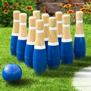 8-Inch-Wooden-Lawn-Bowling-Set-with-Mesh-Bag-10-Pins-Backyard-Family-Game