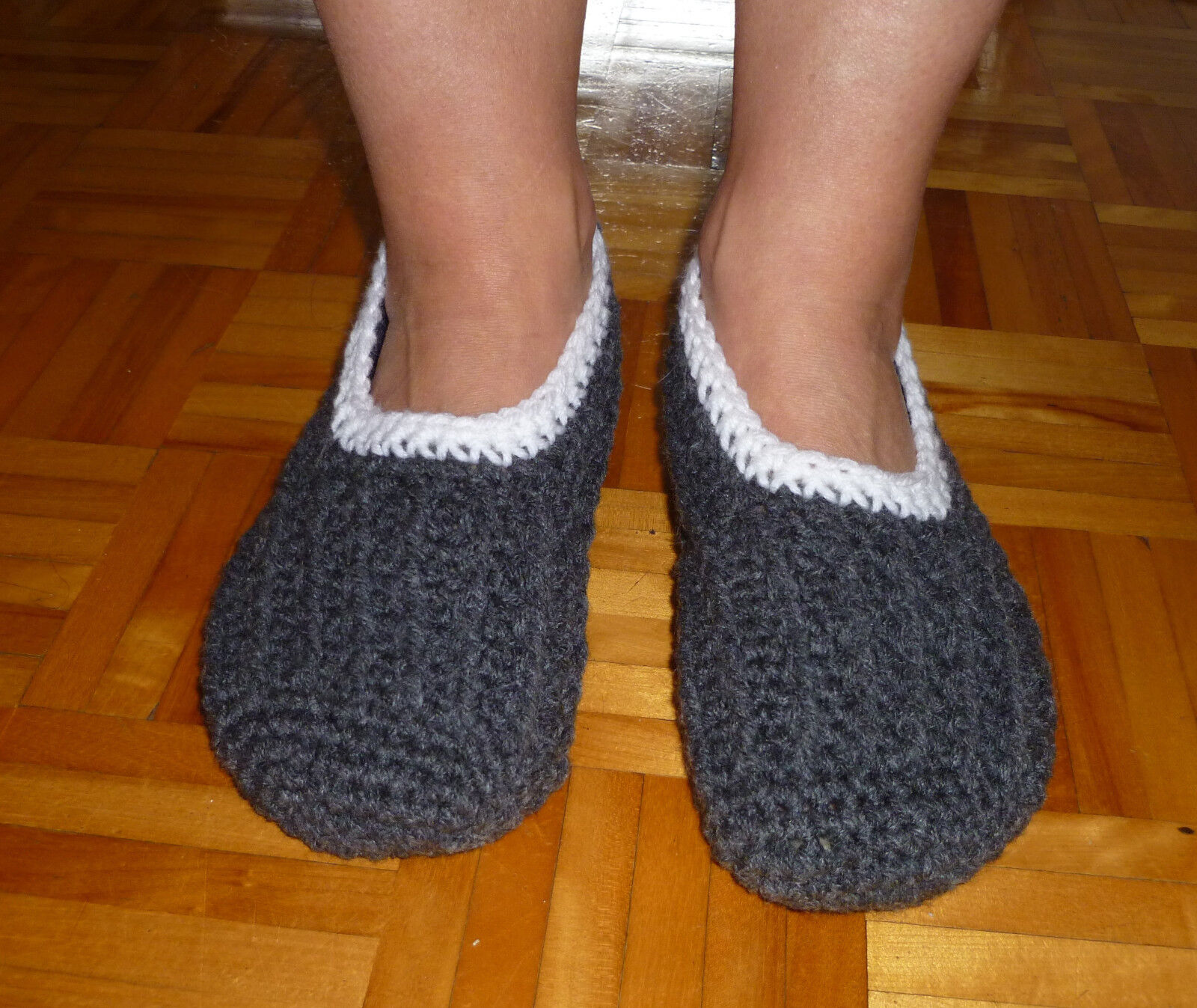 Handmade Crocheted Women Slippers - colors ballet style - Several colors - available b8f890