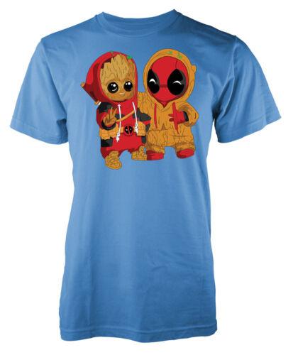 Deadpool Groot Kids T Shirt