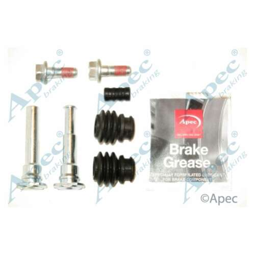 Fits Hyundai i30 1.6 CRDi Genuine Apec Rear Brake Caliper Guide Sleeve Kit
