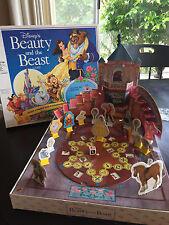 1991 Milton Bradley Disney Beauty And The Beast Board Game 3D VERY RARE