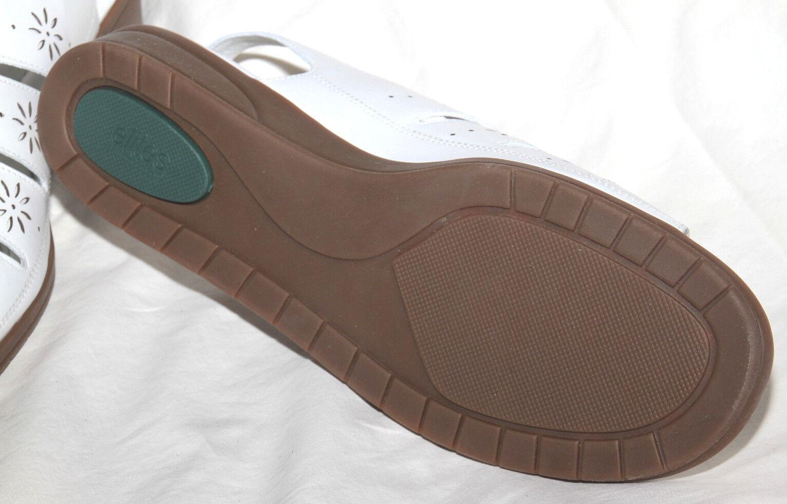 Damenschuhe CRADLES Schuhes Elites by WALKING CRADLES Damenschuhe 'Vase' Weiß Leder Sandales Größe 11 140 d09cf5
