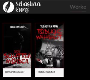 KDP Autoren Projekt mit 2 Werken (E-Book & Taschenbuch), Webseite, Social Media