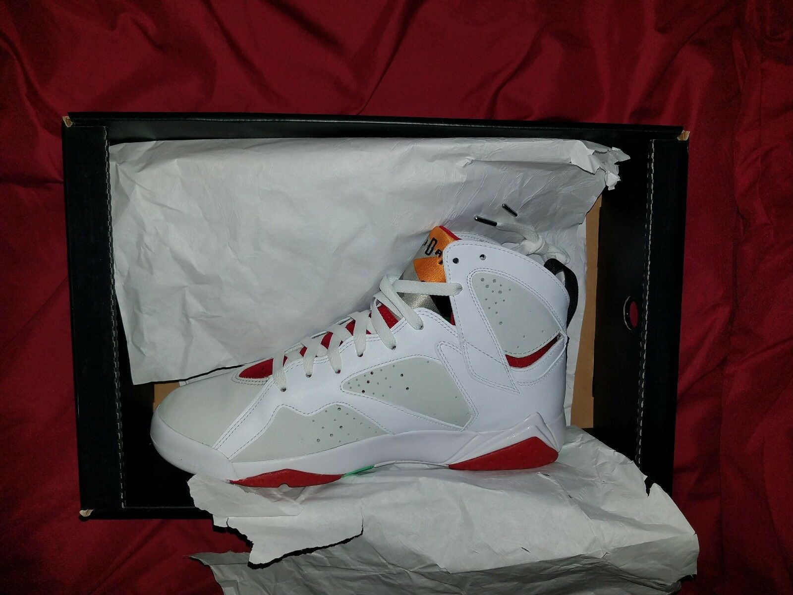 Nike Air Jordan VII Sz 10.5  7 Carmine Hare Count Down Pack Price reduction Cheap and beautiful fashion