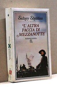 L-039-ALTRA-FACCIA-DI-MEZZANOTTE-S-Sheldon-Libro-Romanzo-Rizzoli-BUR