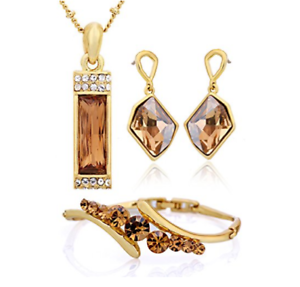 Set-Necklace-Bazalete-Earrings-Crystals-SWAROVSKI-Jewelry-Original-Woman-New
