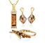 Set-Necklace-Bazalete-Earrings-Crystals-SWAROVSKI-Jewelry-Original-Woman-New thumbnail 1