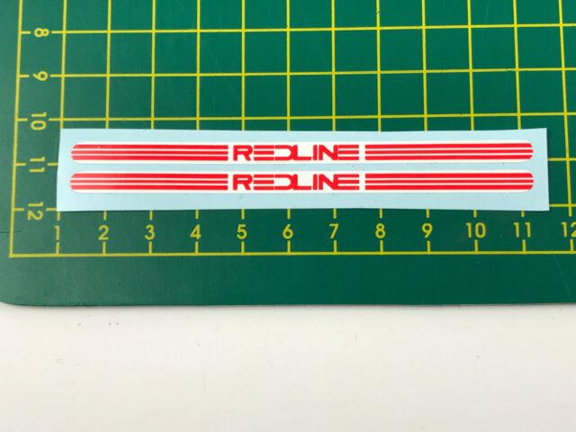 black red not flight old school bmx decals stickers redline proline crank