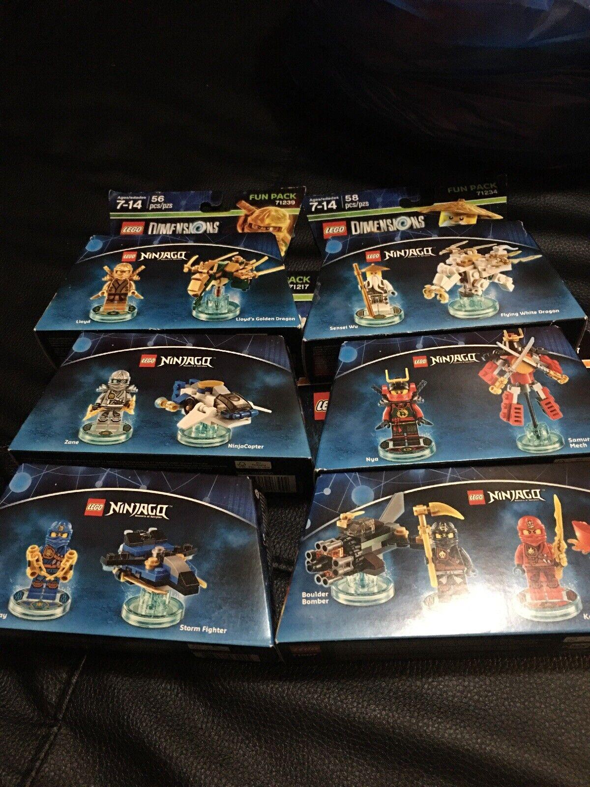 Tallas De Lego Ninjago Set Completo 71207 71215 71216 71217 71234, 71239