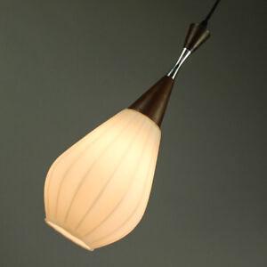 alte-Teak-Glas-Pendel-Lampe-Targetti-Sankey-Leuchte-60er-70er-Jahre-alt-vintage