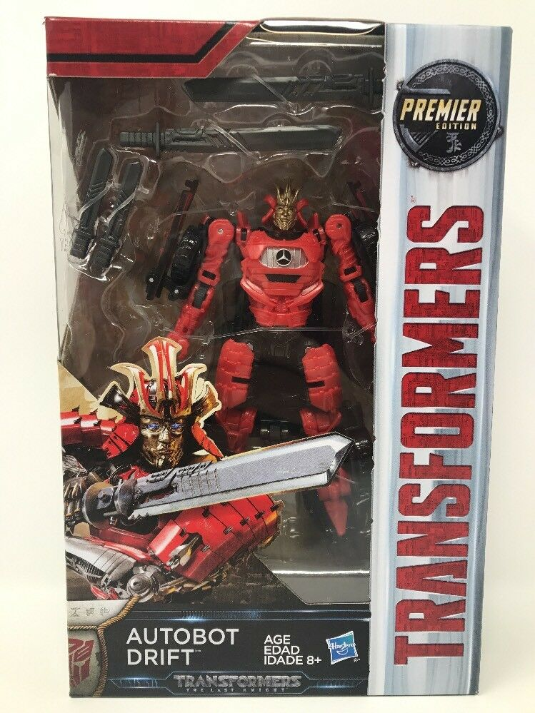 Premier Edition Transformer Autobot Drift Transformers The Last Knight