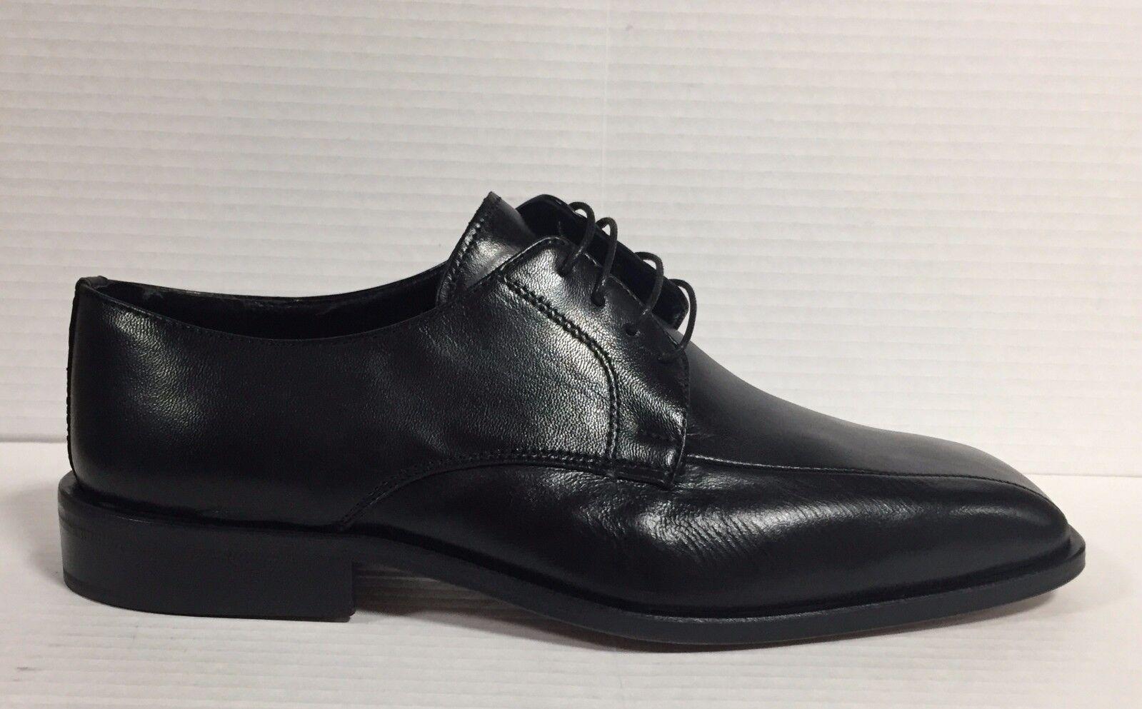 MELLUSO pelle scarpe uomo classiche in pelle MELLUSO nero suola in cuoio made in Italy U0662 94a32a