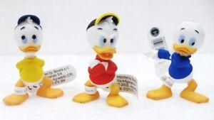 TOPOLINO-Bullyland-QUI-QUO-QUA-serie-di-3-soggetti-Disney-cm-5-5-6-circa-gr-30