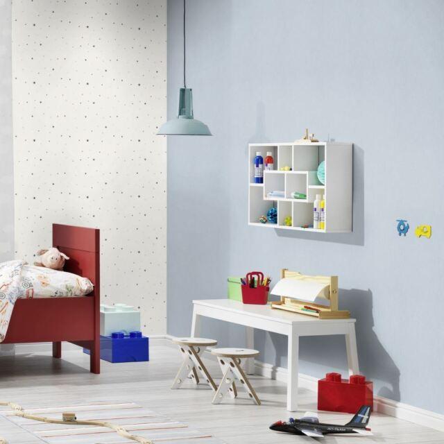 Rasch Wallpaper 247442 Bambino Xvii Children S Plain Colour Room