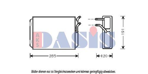 Échangeur de chaleur intérieur chauffage chauffage radiateur chauffage pour volvo avec climatisation
