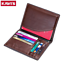 Men-Genuine-Leather-Passport-Holder-Travel-Wallet-ID-Cards-Case-Cover-Organizer thumbnail 2