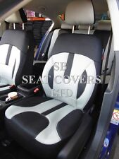 TO FIT A TOYOTA PRIUS, CAR SEAT COVERS, ROSSINI ELEGANCE GREY