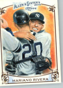 2011 Allen & Ginter #AGHS4 Mariano Rivera- New York Yankees