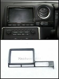 Details about Dry Carbon Interior Fit For 08-16 Nissan R35 GTR CBA DBA RHD  RSW Monitor Cover