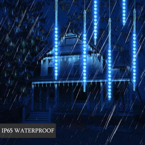 30 50CM Falling Star LED allume pluie extérieure imperméable pluie pluie mé SH