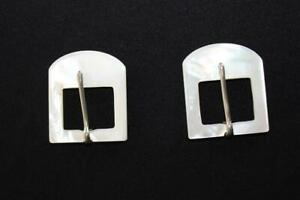 VERY-RARE-DEADSTOCK-1930-039-S-SOLID-MOTHER-OF-PEARL-BELT-BUCKLES-1-1-2-034-X-1-1-2-034