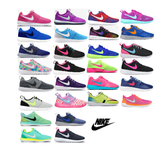 buy popular 89116 3cfb6 ... Nike-Roshe-Baskets-Pour-Femme-Femmes-Youth-Chaussures-