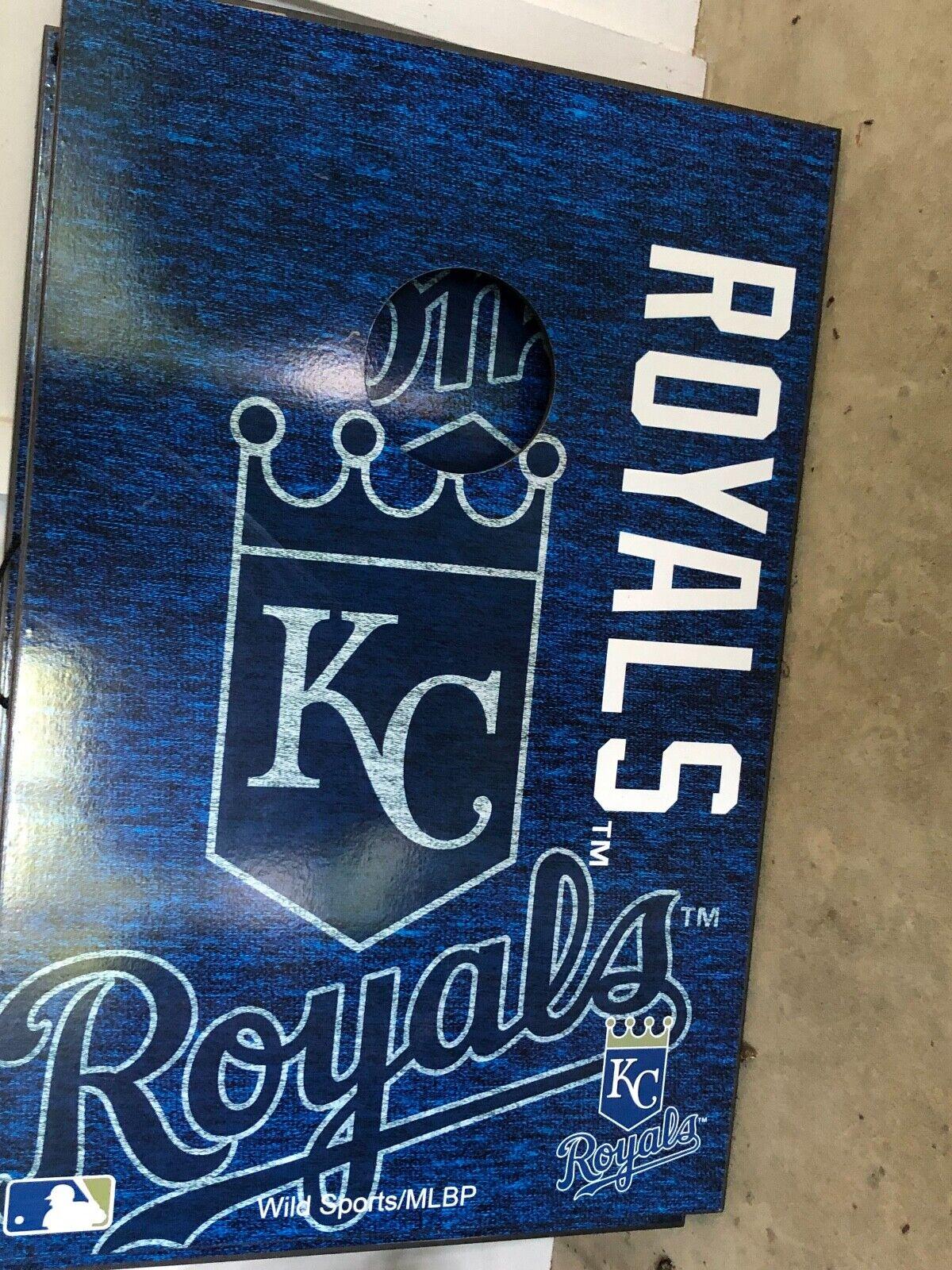 Kansas  City Royals Cornhole Game Set  no tax