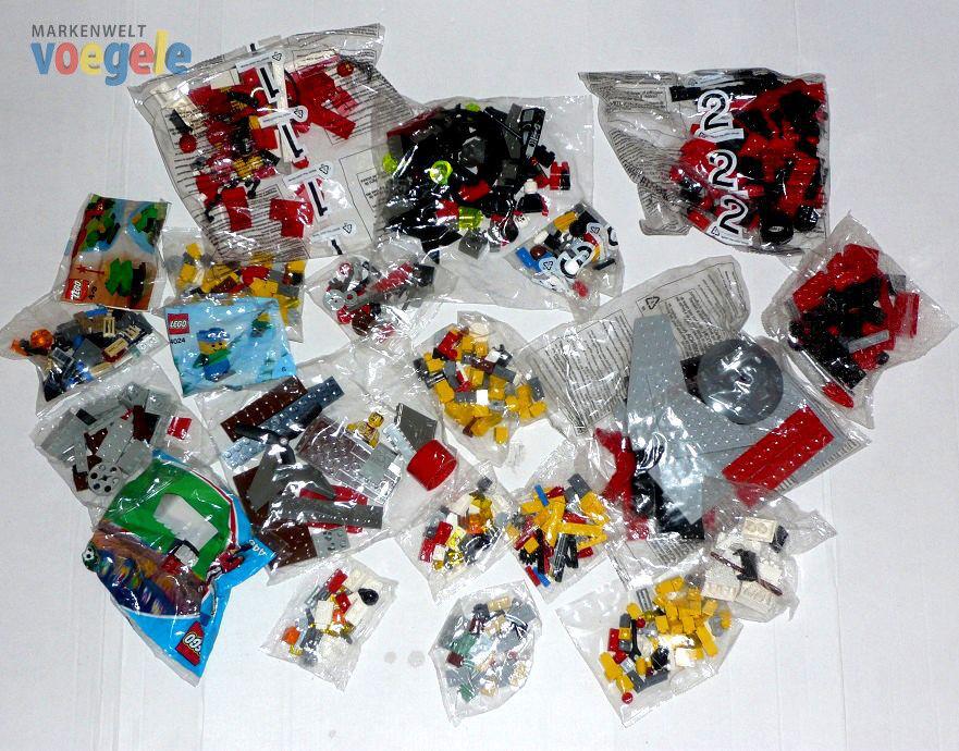 LEGO 640g Produit NEUF Sacs soudé Pièces de rechange Chemin fer Oiseaux Space